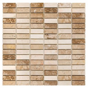 DUNIN Travertine mozaika Block Mix 48