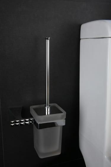 Art Platino Panama szczotka WC wisząca chrom PAN-86090