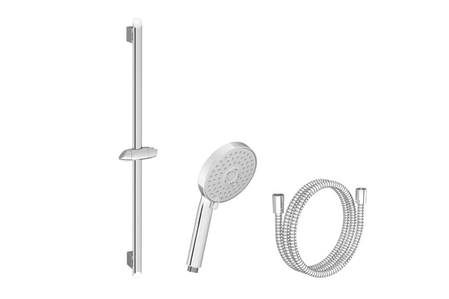 Ravak  zestaw prysznicowy-wąż 150cm, słuchawka Flat M, drążek 63cm  902.00 X07P177