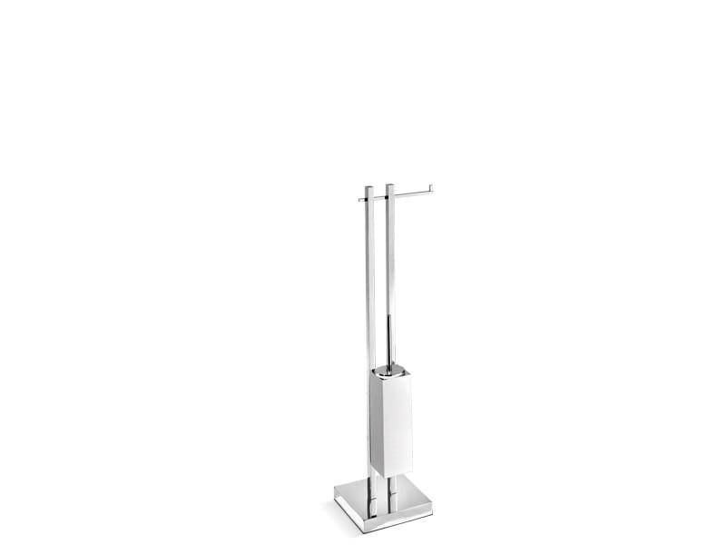 Sanco stojak szczotka WC+uchwyt na papier A3-1503