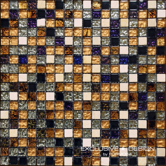 MIDAS - Mozaika szklano-kamienna 8mm A-MMX08-XX-002