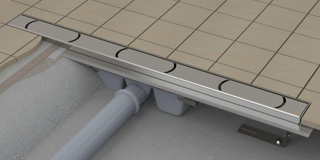 Odpływ liniowy RAVAK Chrome 850  nierdzewny X01427
