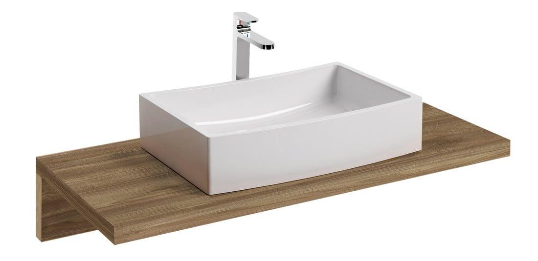 Ravak Blat po umywalkę L 1000 orzech X000000837