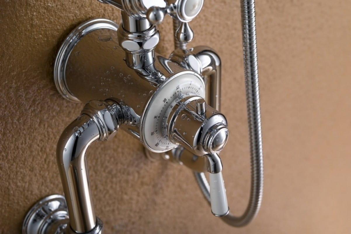 Blue Water Calitri zestaw kabinowo-prysznicowy natynkowy chrom CAL-ZKPN.700C
