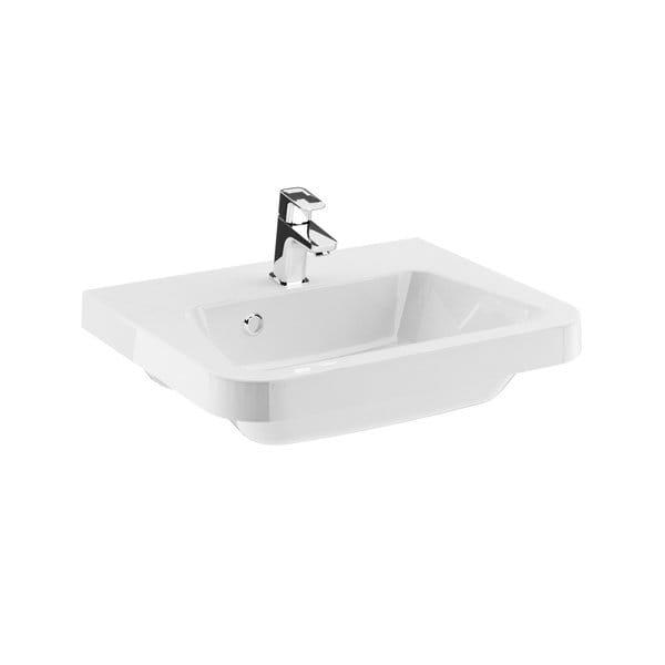 Ravak umywalka  10°(stopni)  550 biała z otworami   XJI01155000
