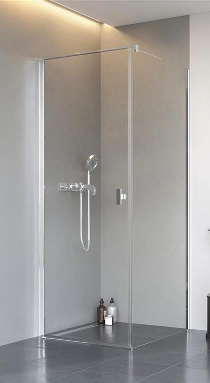 Kabina Radaway Nes KDJ I drzwi 100L x ścianka 90 szkło przejrzyste wys. 200 cm. 10022100-01-01L/10039090-01-01