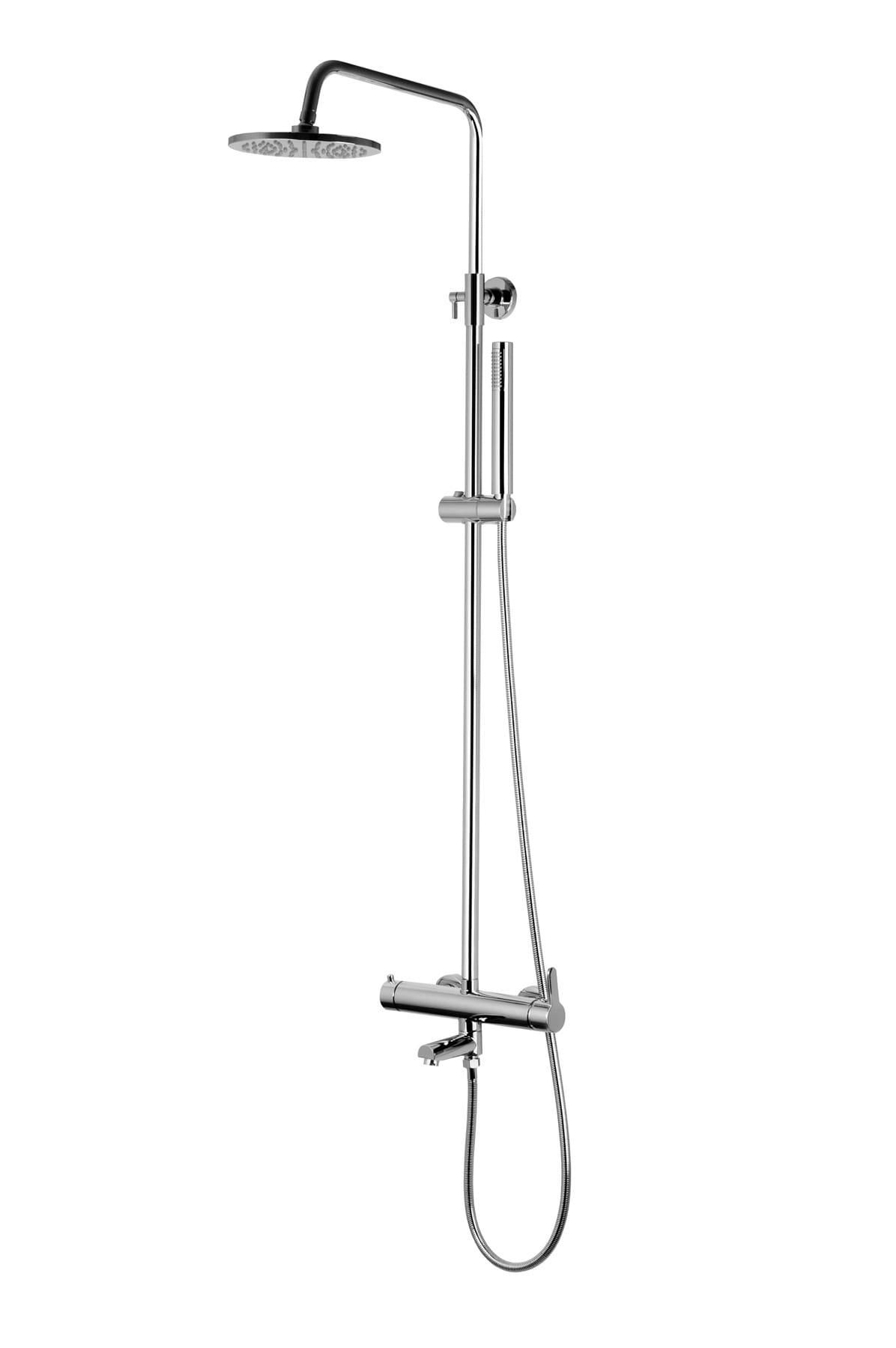 Corsan kolumna prysznicowa mieszaczowa regulowana Lugo chrom CMN014