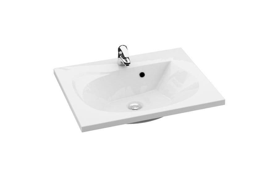Ravak Rosa II 760 umywalka biała z otworami XJ201176000