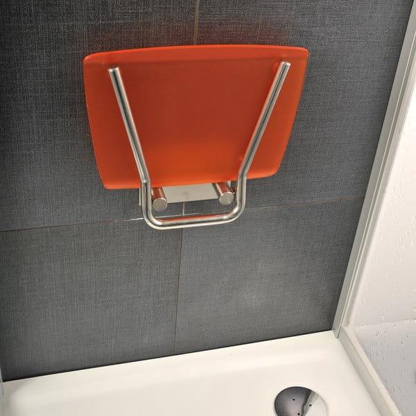 Ravak siedzisko prysznicowe Ovo B Opal/czarne  B8F0000046