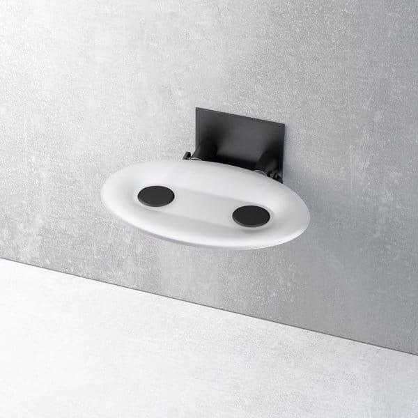 Ravak siedzisko prysznicowe Ovo P Opal/czarne  B8F0000043