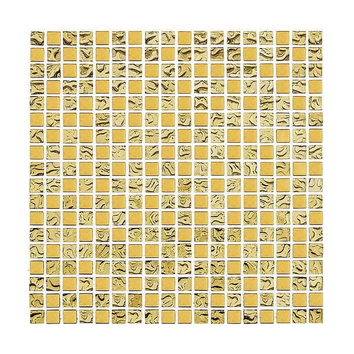 DUNIN Glass mix mozaika szklana  DD1 GOLD mix 15