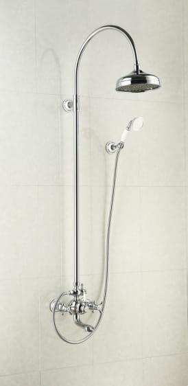 Art Platino Nikolas zestaw prysznicowo-wannowy chrom NIK-ZWPN.500C
