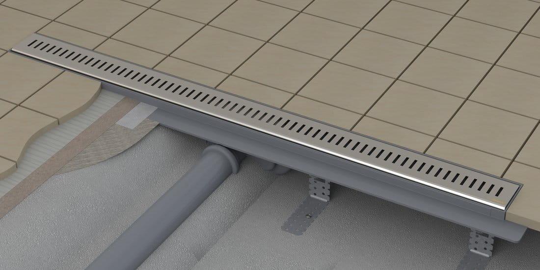 Odpływ liniowy RAVAK Zebra 750  - tworzywo sztuczne X01433