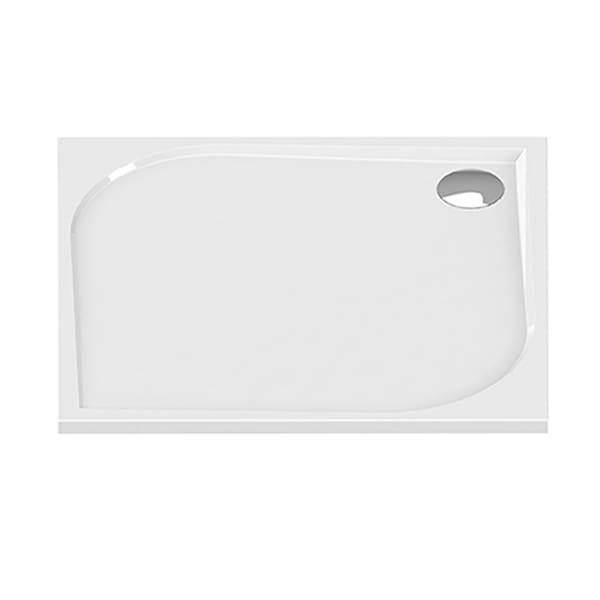 New Trendy | Brodzik SAVOS kwadratowy, konglomerat 90x90x3cm    B-0353