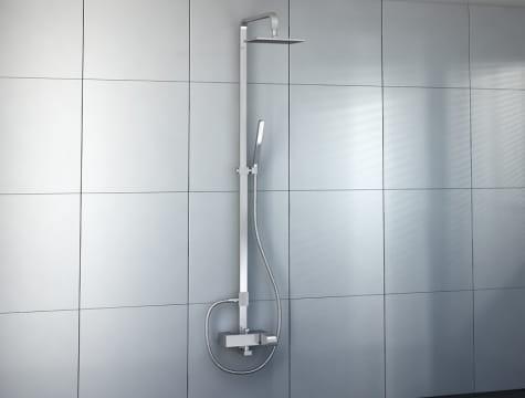 Kohlman zestaw prysznicowy natynkowy QW276L  Lexis