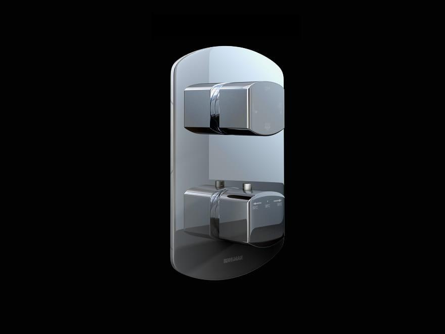 Kohlman bateria wannowa podtynkowa 3 wyjścia termostat QW433F Foxal