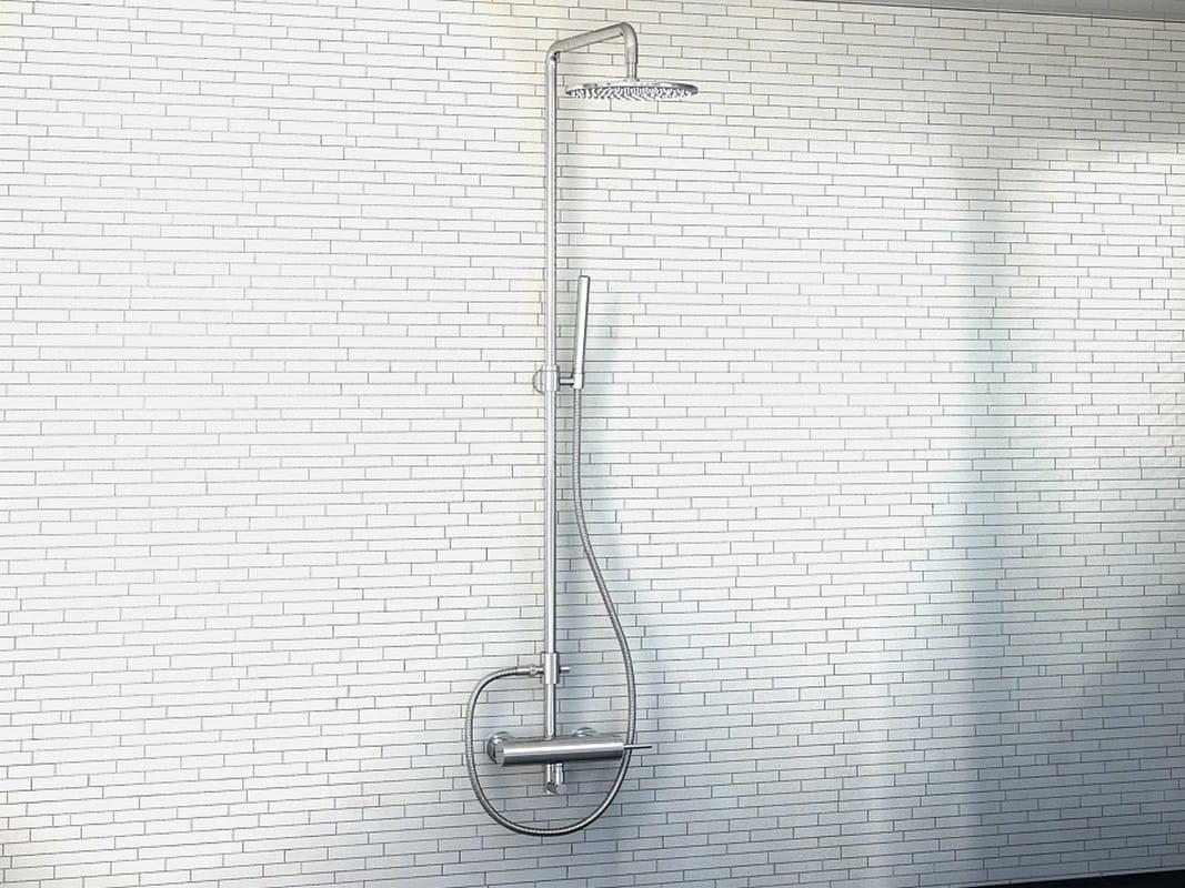 Kohlman zestaw prysznicowy natynkowy QW276M Maxima