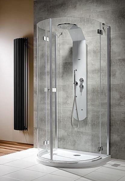 Kabina prysznicowa przyścienna półokrągła Radaway Almatea P 100x90