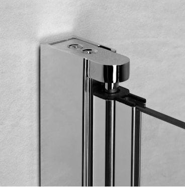 Kabina prysznicowa półokrągła Radaway EOS PDD 90 x 90 - profil