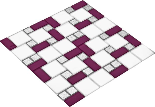 Goccia Crystal mozaika szklana BAROK 4011