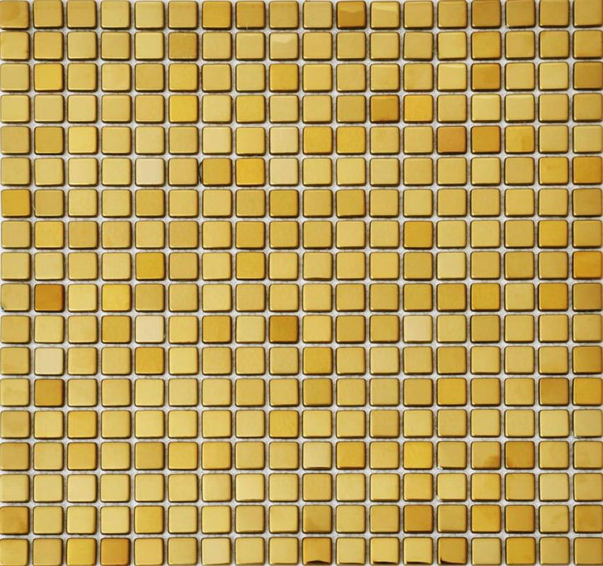 CERAMICA PICASA Mosaic Metallico Gold