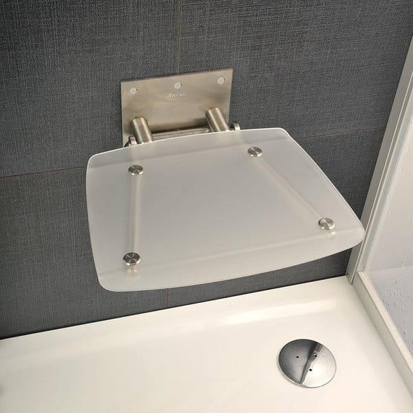 Ravak siedzisko prysznicowe Ovo B clear B8F0000015