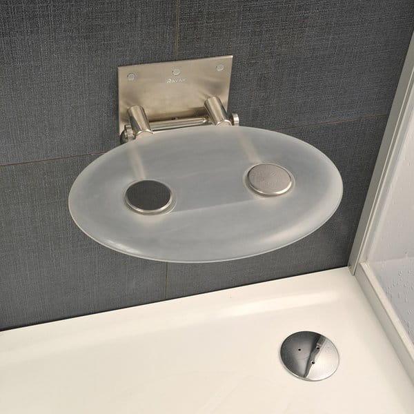 Ravak siedzisko prysznicowe Ovo P clear  B8F0000000