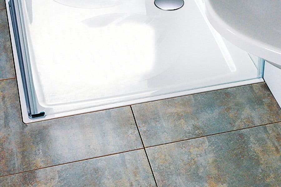 Ravak brodzik prysznicowy Perseus Pro Chrome 80 biały  XA044401010
