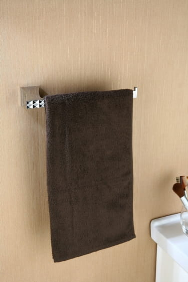 Art Platino Panama reling, wieszak na ręcznik prostokątny chrom PAN-86040