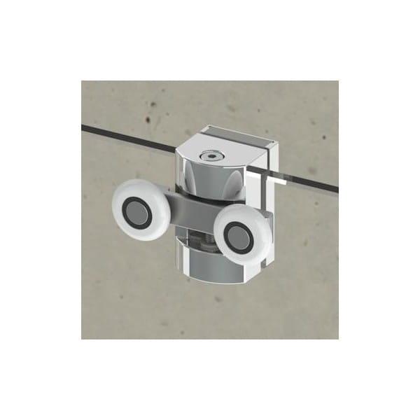 Kabina prysznicowa Radaway Premium Plus E 100x80 cm - rolka górna