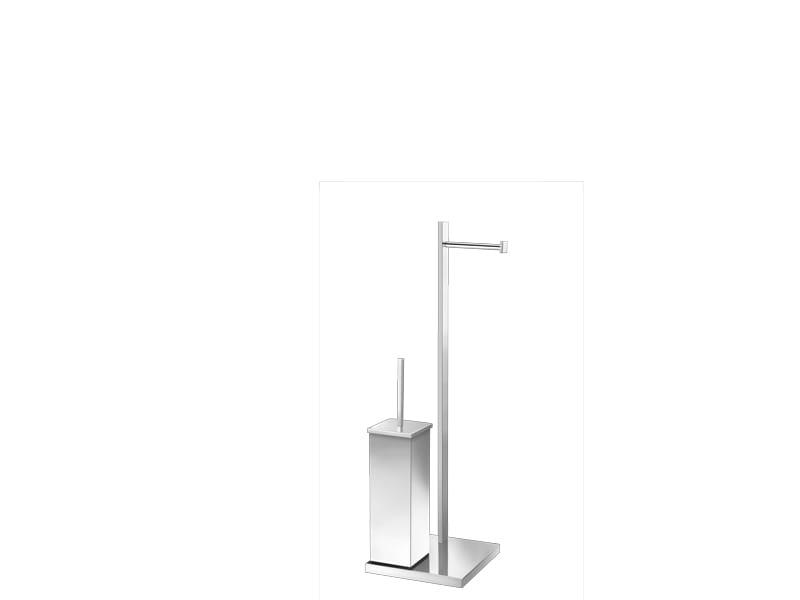 Sanco stojak szczotka WC+ uchwyt na papier A3-0509