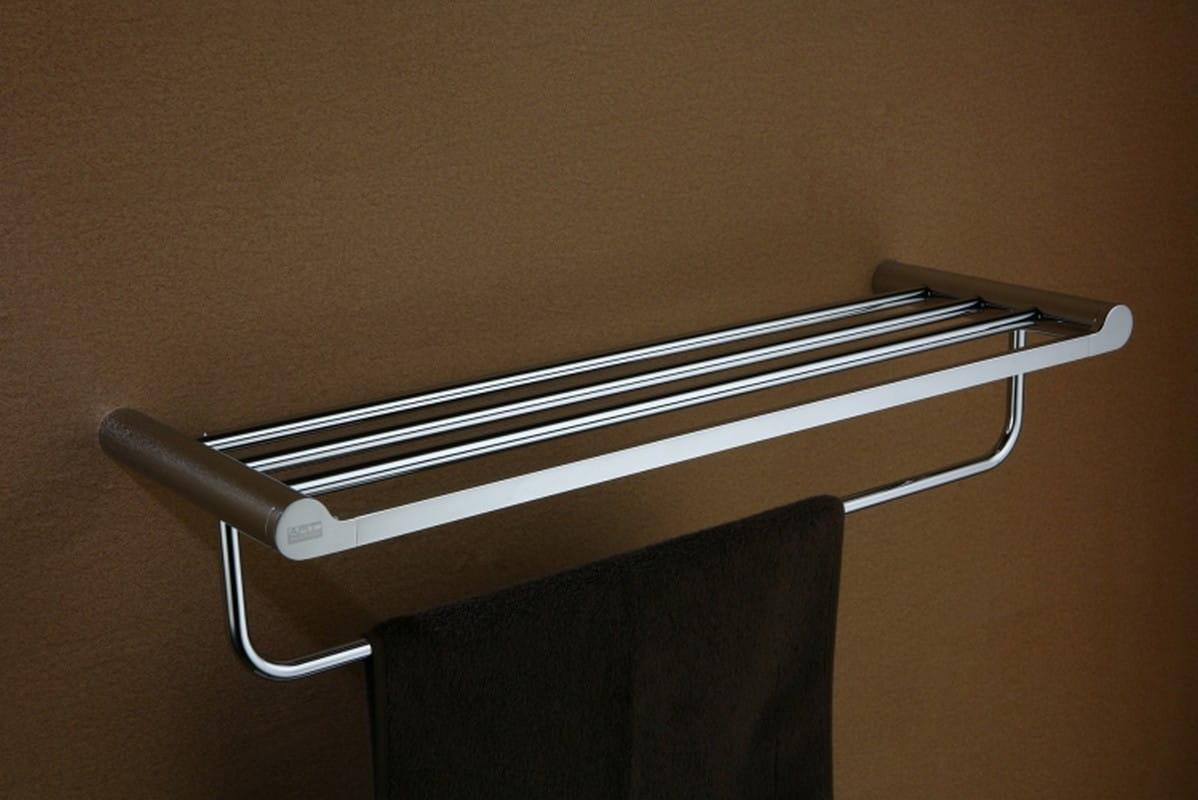 Art Platino Doreo półka na ręczniki z relingiem chrom DOR-97012