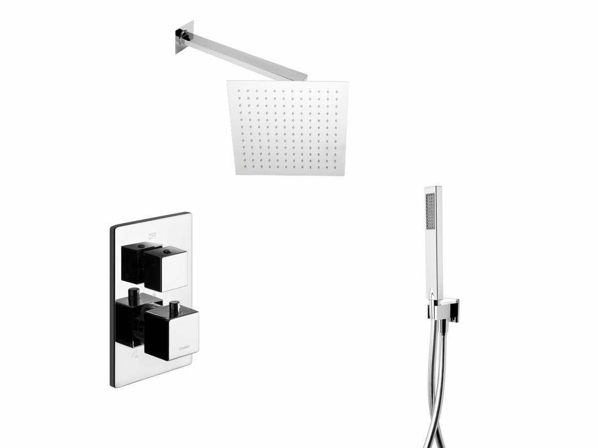 Corsan Prysznicowy zestaw podtynkowy termostat CMZ029