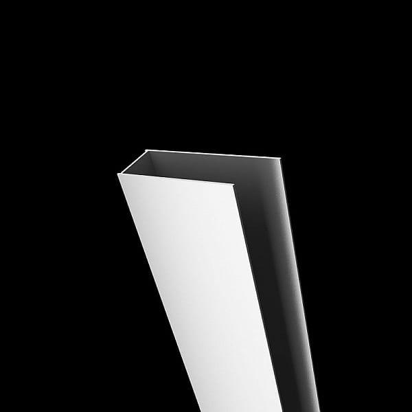 Radaway profil poszerzający Classic U biały + 2 cm P01-112185004