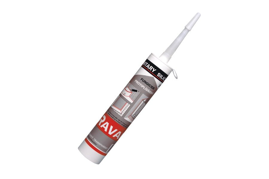 Ravak silikon sanitarny transparent 310ml   X01201