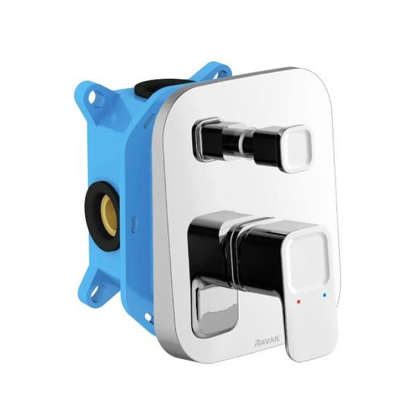 Ravak  bateria podtynkowa z przełącznikiem do R-Box 10° ( 10 stopni)  X070070     TD 065.00