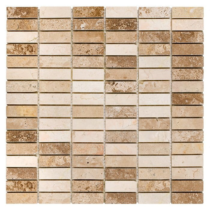 DUNIN Travertine mozaika Block Mix 48