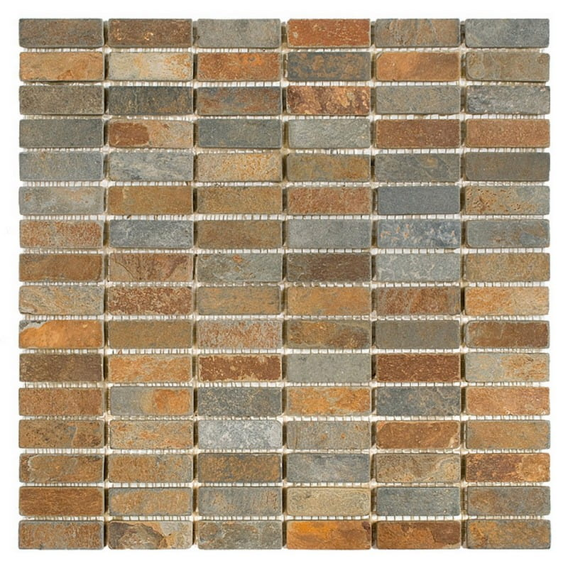DUNIN Zen mozaika Slate Block MIX 48