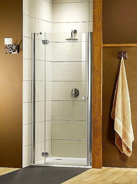 Radaway drzwi wnękowe Torrenta DWJ 80 lewe szkło Carre wys. 185 cm 31910-01-10N