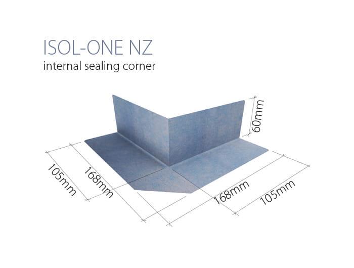 WIPER narożnik uszczelniający zewnętrzny,  ISOL-ONE NZ