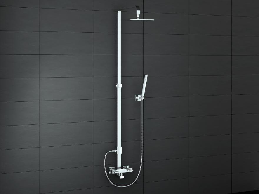 Kohlman zestaw prysznicowy natynkowy QW276U Nexen