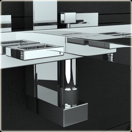 Kohlman zestaw wannowo-prysznicowy natynkowy QW277U Nexen