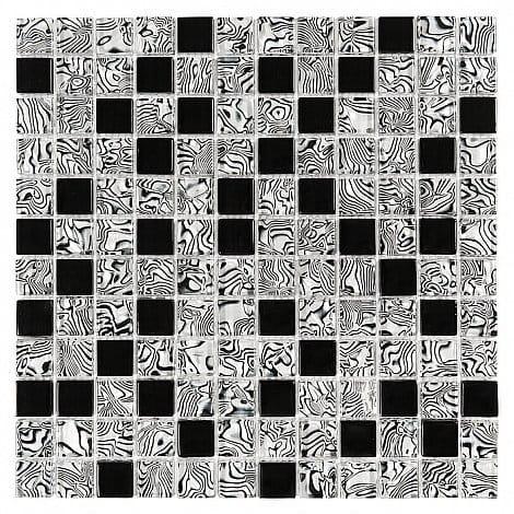 DUNIN Lunar mozaika szklana Zebra Mix 23