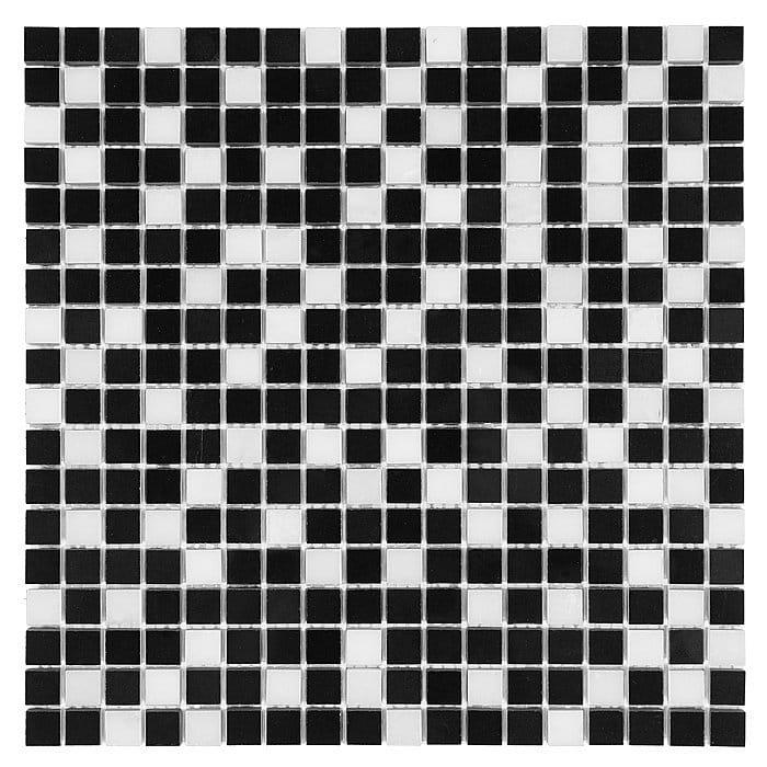 Dunin mozaika kamienna B&W Pure Black Mix 15