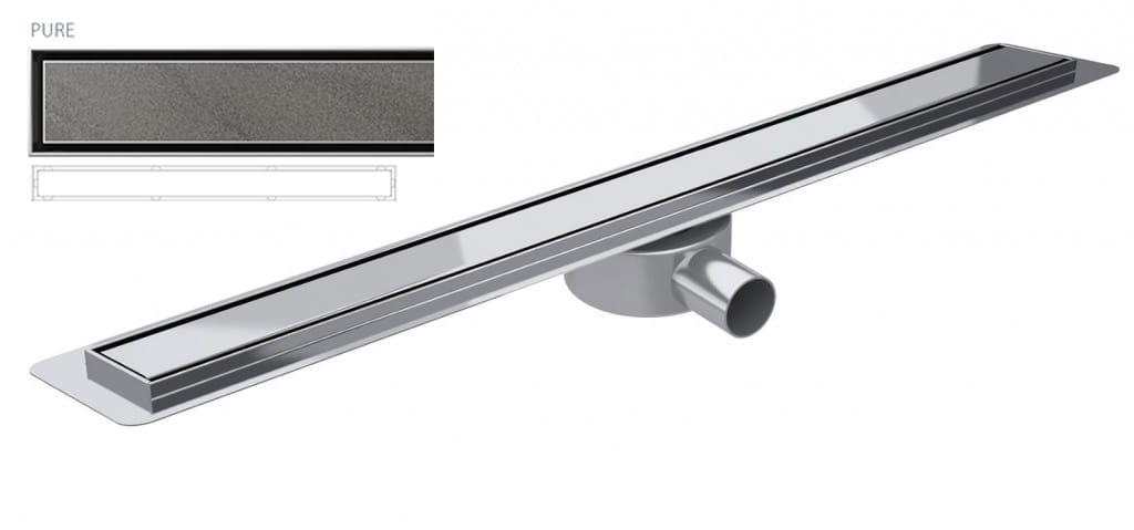 Odpływ liniowy Wiper Slim Pure Premium 120 cm  WPS1200PU