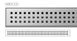 Odpływ liniowy Wiper Slim Sirocco Premium 80 cm  WPS800SI