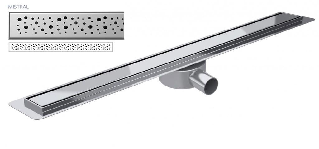 Odpływ liniowy Wiper Slim Mistral Premium 80 cm  WPS800MI