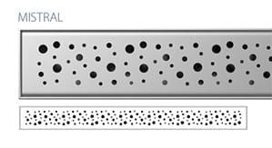 Odpływ liniowy Wiper Slim Mistral Premium 70 cm  WPS700MI