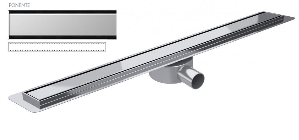 Odpływ liniowy Wiper Slim Ponente Premium 80 cm  WPS800PO