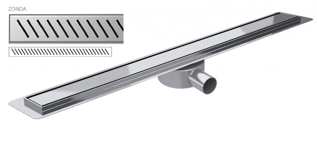 Odpływ liniowy Wiper Slim Zonda Premium 80 cm  WPS800ZO